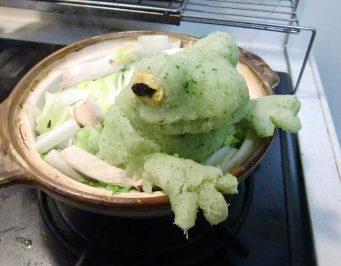 カエル鍋の出来が想像以上にすごかったw