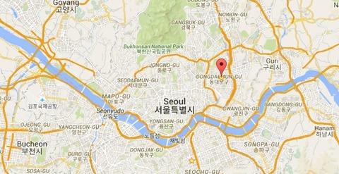 ソウル市立大学地図