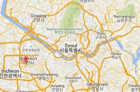 富川大学地図