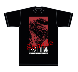 Titan shirt front - sample