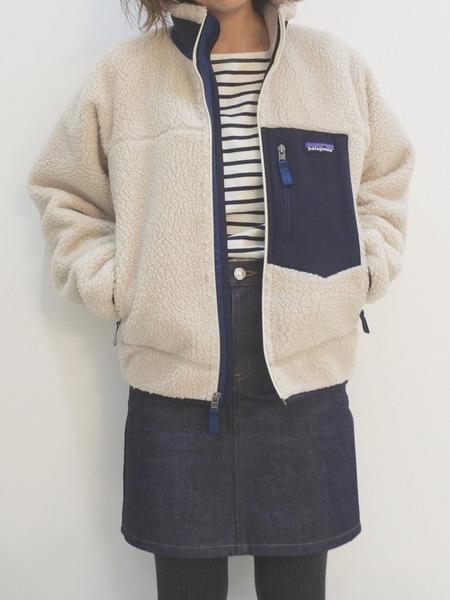 【画像】ナウな女の子のあいだでPatagoniaのジャケットが流行ってるらしい