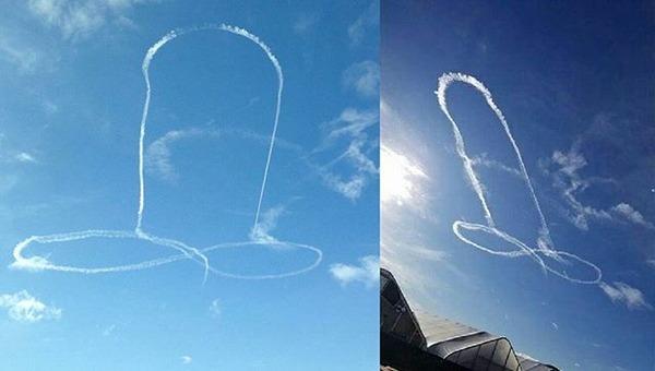 【画像あり】空に巨大な男性器を描いた米海軍パイロットの末路wwwwwwwwwww