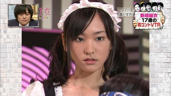【画像】日テレでガッキーのメイドコス!!!!!!!!の画像