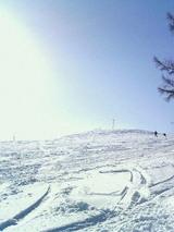 まだまだ雪質良。