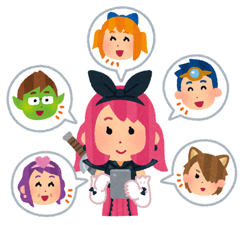 game_social_sns_happy