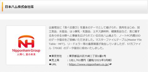 日本ハム株式会社様