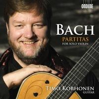 J.S.バッハ(コルホネン編曲)「無伴奏ヴァイオリンのためのパルティータ集」