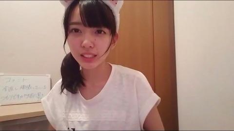 【放送事故】STU48 石田みなみ18生放送中に生理ナプキンが映り込むwwwwwwwファン「非処女確定・・・」