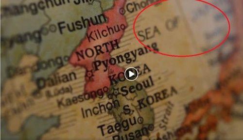 【日本海表記】 会見前に流された韓国語映像で「東海」が「日本海」に~トランプ「我々が作った映像」