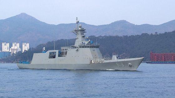 【韓国海軍】新型護衛艦「大邱」、実戦投入5カ月で故障