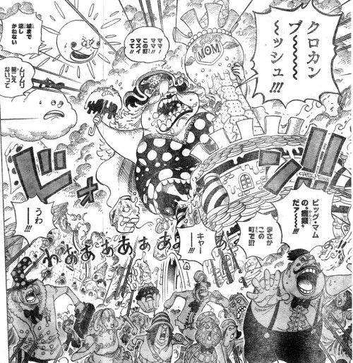 【ワンピース】アニメで登場したスイーツ「クロカンブッシュ」が話題にwww