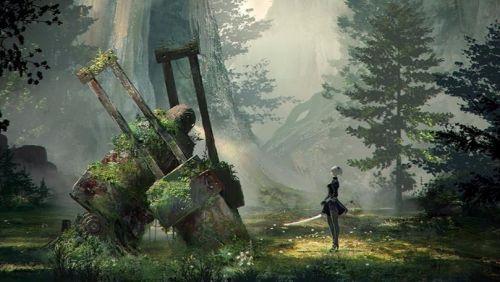 PS4『NieR:Automata(ニーア オートマタ)』アクションシーンが見られる最新トレイラーが公開!