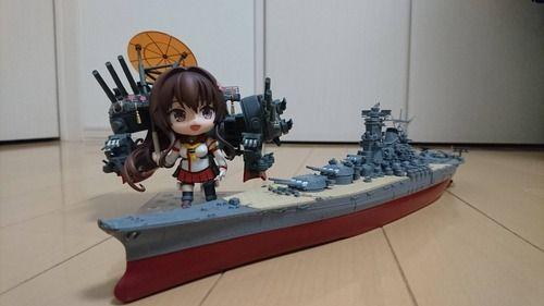 【艦これ】大和建造完了!最終時艤装はいつ見ても圧巻だな