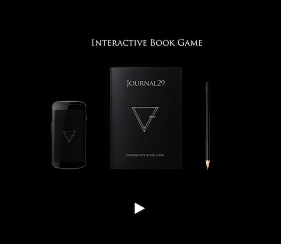 スマホ、本、ペンで楽しむ謎解きブック『Journal29』