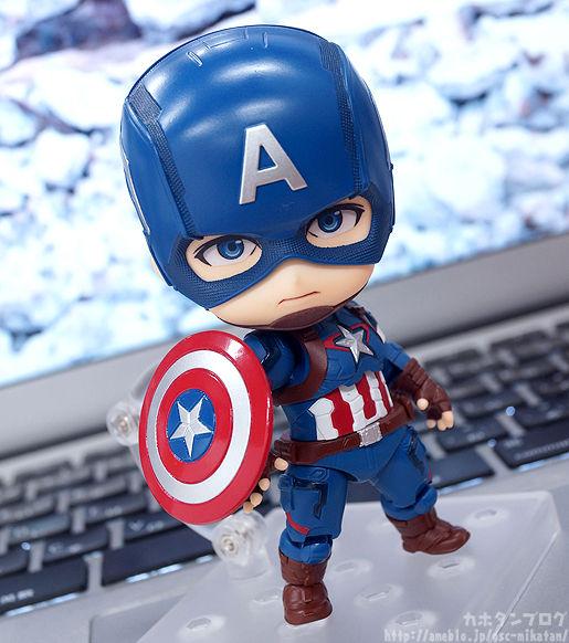 ご予約受付中★「ねんどろいど キャプテン・アメリカ ヒーローズ・エディション 」をご紹介!