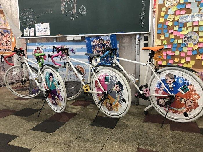 【サンシャイン】SUN!SUN!サンシャインcafeにレンタル自転車が登場、明日19日よりレンタル開始