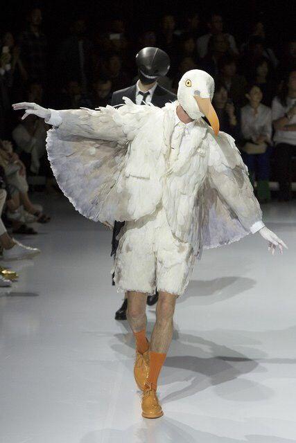 【画像】ファッション業界、人間をやめるwwwww