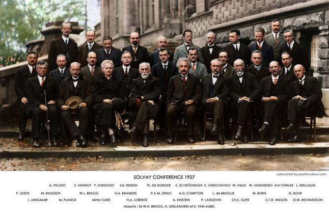 1927年に開催された物理学の学会のメンツがヤバ過ぎてワロタwwwwwww