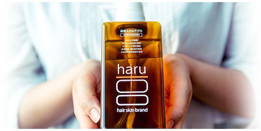 白髪を減らすアミノ酸シャンプーharu  kurokamiスカルプ