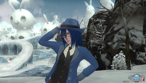 雪景色でどうも!