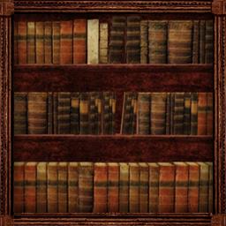 壁掛け本棚扉つき3