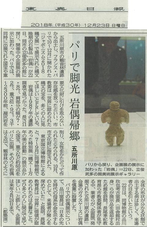 20181223東奥岩偶