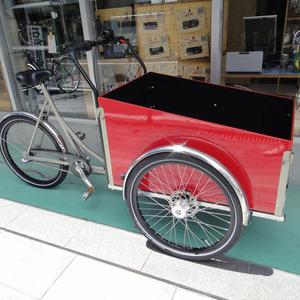自転車登場赤