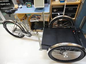 自転車ばらす