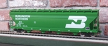 Weaver ACF Center-flow 4-bay Covered Hopper BN