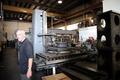 Heber Creepers machine shop