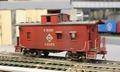Erie Railroad caboose