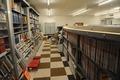 sorted bookshelves