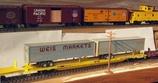 89'Trailer-Train Flat Car