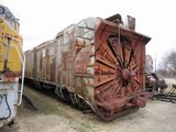 UP Steam Rotary Snow Plow