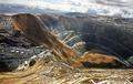 Landslide in Bingham Mine