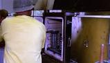 Opening furnace