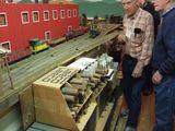 Log shelf
