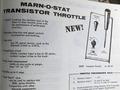 transistor throttle