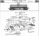 Thomas Tank Car Exploded View