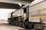 UP8444 at Salt Lake City Depot
