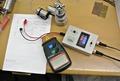 tachometer and torque indicator