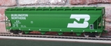Weaver ACF Center-Flow 4-bay Covered Hopper BN2