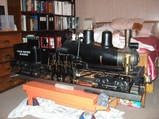 Live Steam Shay