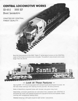 CLW SD40-2 Brochure