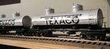 TEXACO silver tank cars
