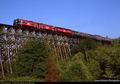 Dinner Train on Wilburton Trestle