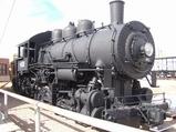 0-6-0 switcher at Ogden Station