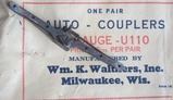 Walthers Auto Couplers