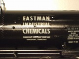 applying decal on a tank car