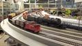B&O EM-1 + 125cars + caboose